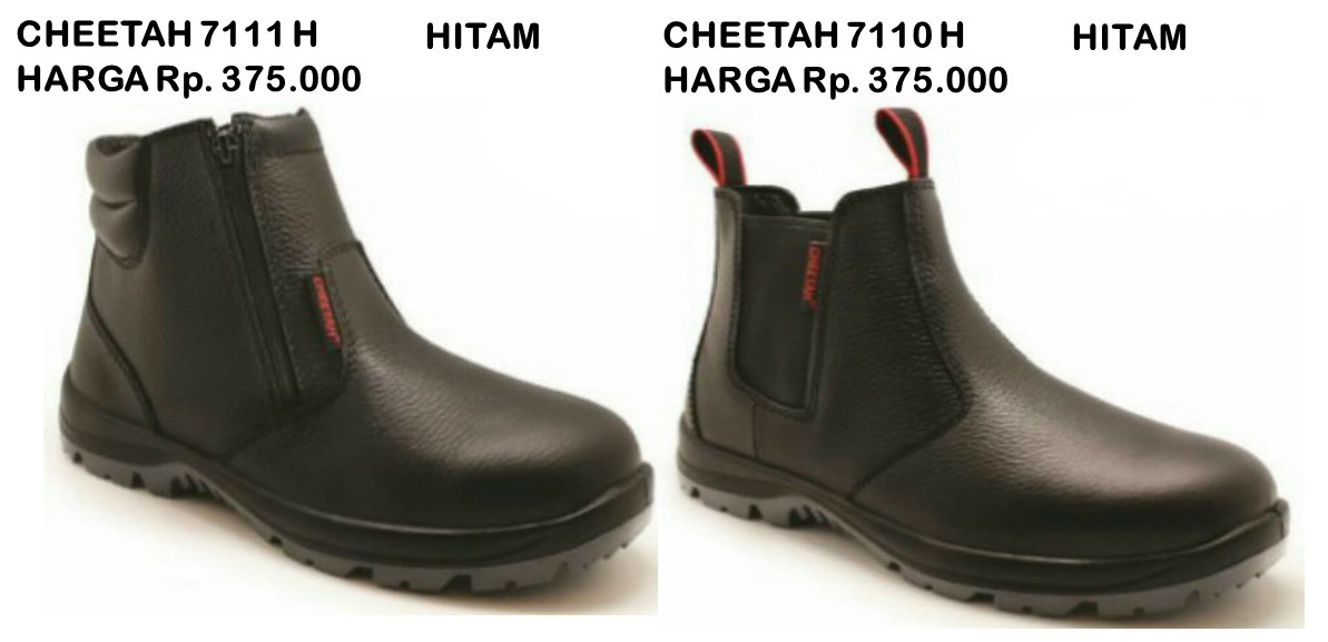 SEPATU SAFETY CHEETAH 7111 H DAN 7110 H  fbcc9a6294